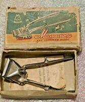 Vtg Manual Hair Clipper Cutter Trimmer ☭ USSR Russian Soviet RARE Barber 1959