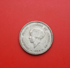 Luxembourg-Luxemburg: 5 Frang 1929 Silber, KM# 38, F# 1794