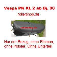 Sitzbank-Bezug für Vespa PK XL2, XL 2, PK mit ovalen Tacho, Handgenäht in DE