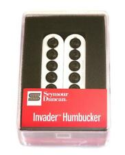 Seymour Duncan® SH-8n Invader Humbucker~White With Black Pole Pieces~Brand New
