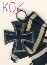 Orden 1.WK EK2 mit Hersteller KO  , Eisernes Kreuz Silber-Zarge ,Eisen-Kern