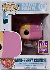 """MINT-BERRY CRUNCH South Park Pop 4"""" inch Vinyl Figure #06 Comic Con Funko 2017"""