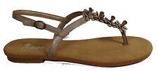 RIEKER Schuhe Sandalen Riemchen Sandaletten Dianetten silber grau NEU
