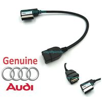 Genuine Audi AMI Lead music iPod MP3 Memory Stick Cable to USB 4F0051510AB