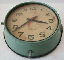 SEIKO Marine SHIP'S TRANSISTOR Clock - JAPAN -  SHIP'S 100% ORIGINAL (1548)