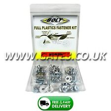 Honda CR250 1990-1991 Full Plastics Fastener Kit - Nuts/Bolts/Washers