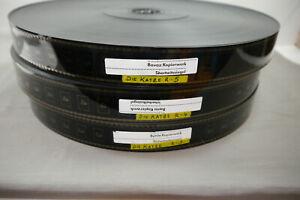 Die Katze 1988 35mm 3 Filmrolle von 6 Rollen  Kino Film Götz George F23