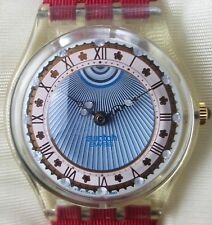 """Swatch """"Roi Soleil"""" GZ 127 Gent X-mas-Special Pack 1993"""