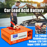 12/24V Car Battery Charger Intelligent Automatic Pulse Repair lead