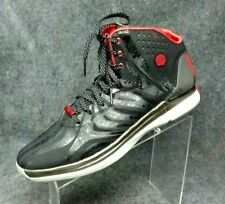 2d0e044c6c3b ADDIDAS D ROSE 4 CHICAGO BULLS Black Multi Sprintweb Basketball Shoes Sz 12