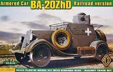 Ba-20ZhD, Armored Car (railroad version) << ACE #72210, 1:72 scale