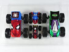 REGENER8'Rs Marvel 4-Pack transforming vehicles Spider-man Hulk Captain America