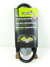 Char Broil Universal Dual Hose And Regulator 4655 nos