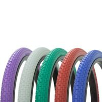 LOWRIDER COLOR BIKE TIRE 20'' x 1.75'' LOW RIDER BICYCLE, 5 COLORS! BMX STROLLER