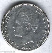 Alfonso XIII 1 Peseta 1902 Tupe @@ E.B.C. - @@