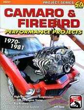 CAMARO BOOK FIREBIRD PROJECTS MANUAL PERFORMANCE SHOP TANN 70-81