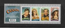 Canada 2006 Canadians in Hollywood Souvenir Mini Sheet