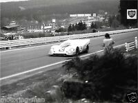 JO SIFFERT PORSCHE 917 SPA FRANCORCHAMPS 1000KM 1970 WYER AUTOMOTIVE PHOTOGRAPH