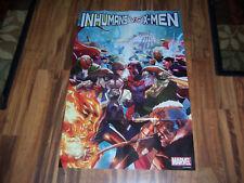 Marvel Inhumans Vs. X-Men Promo Poster From 2016