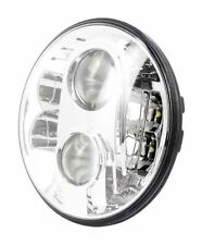 Faro Proiettore Tondo Universale Anteriore 8 LED OMOLOGATO ⌀ 175 mm Moto NAKED