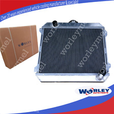 For NISSAN STANZA RADIATOR DATSUN 510 610 710 720 L20B Manual ALUMINIUM