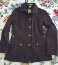 NWT Sigrid Olsen Brown Vineyard Haven Jacket XS