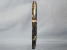 Parker Vintage Stripped Duofold Fountain Pen-working-fine point--V-nib
