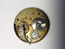 VTG ~ VERY RARE. UNION BELL 16 size pocket watch movement