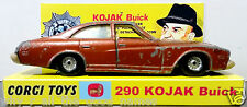 CORGI 290 KOJAK - BUICK REGAL 1:36 Diecast Model TV Car on Custom Display [b]