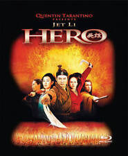 Hero (Blu-ray Disc) Jet Li Kung Fu Rare Oop Tin