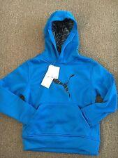 NWT Kids Blue Puma Storm Cell Hoodie Size 4 Very Nice!!!!
