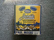 vintage 1950,s paul moor company jointite  bottle caps full original box nice