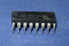 Tms4116-20Nl Ti Tms4116 Vintage 1980+ 16-Pin Dip 4116N Orig Tubes