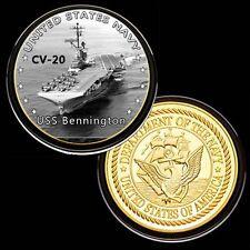 us navy USS Bennington  (CV-20) GP Challenge pinted Coin
