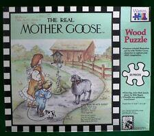 Vintage Wooden Puzzle The Real Mother Goose Baa Baa Black Sheep Rand McNally