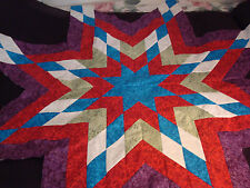 GEMS OF THE SOUTHWEST LONE STAR - Quilt Top - Not quilted