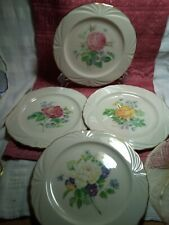 """4 Lovely 9"""" Lenox """"The Rose Expressions Collection"""" Beautiful Collectors Plates"""