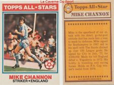 143 MIKE CHANNON # ENGLAND ALL STARS CARD PREMIER LEAGUE TOPPS 1978