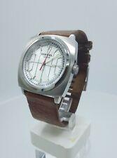 Diesel DZ2137 men's watch vintage look brown leather DZ-2137 10 ATM