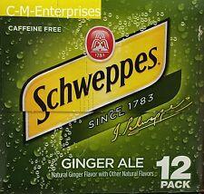 Schweppes Ginger Ale 12 pack