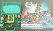 Bakugan Bakubowl Arena 12 Battle Bots 18 Cards stadium lot