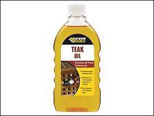 Everbuild Teak Oil 500ml EVBTEAK