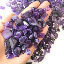 100G A+ Natural Amethyst Crystal Quartz Tumbled Stone Chips Healing Specimens
