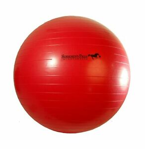 Horsemen's Pride Mega Ball Horse and Dog Toy Red