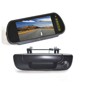 Tailgate Rear View Backup Camera +7' Mirror Monitor for Dodge Ram 1500 2500 3500
