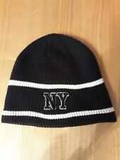 No Fear New York Junior Beanie Hat Snow Winter Warm Beanie Black Hat