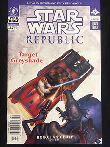 STAR WARS REPUBLIC #47 NM 9.4 super rare NEWSSTAND edition DARK HORSE 2002