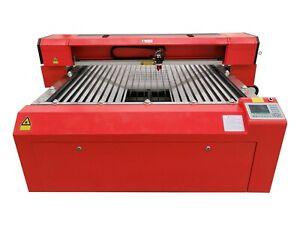 150W HQ1325 CO2 Laser Cutting Machine Cutter Servo Motor Rack Vision CCD Camera
