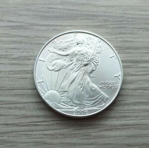 1 Oz Silver Eagle 2006 Liberty USA 1 Dollar,31,1 g