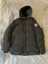 Authentic Canada Goose MacMillan Slim Fit Hooded Parka Black Size 2XL